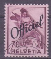 Schweiz Verwaltungsmarke: SBK-Nr. 57 (Historische Bilder, 1942) Gestempelt - Servizio