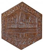 """Ausztria 1937. """"KAMERADSCHAFTSFAHRT Ö. B. B. 1937 - BUDAPEST (Bajtársi Túra Osztrák Szövetségi Vasút 1937 - Budapest)"""" B - Coins & Banknotes"""