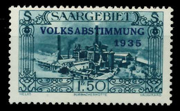 SAARGEBIET 1934 Nr 190 Postfrisch X7DA60E - Unused Stamps