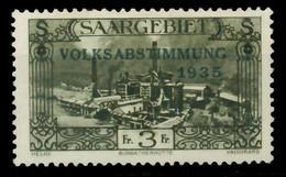 SAARGEBIET 1934 Nr 192 Ungebraucht X7DA622 - Unused Stamps