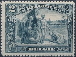 [** SUP] N° 146a, 2F Gris-noir - Cote: 115€ - 1915-1920 Albert I