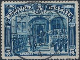 [O TB] N° 147, 5F Franken TB Centré, Obl Concours Et Très Frais - Cote: 170€ - 1915-1920 Albert I