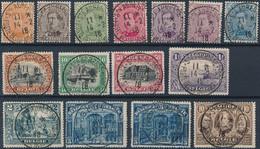 [O SUP] N° 135/49, La Série Complète Avec Oblitérations Centrales - Cote: 200€ - 1915-1920 Albert I