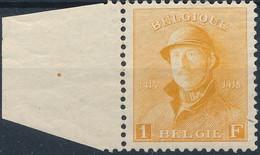 [** SUP] N° 175, 1F Orange. Bord De Feuille Et Bon Centrage (non Compté). LUXE - Cote: 120€ - 1919-1920 Trench Helmet