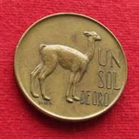 Peru 1 Un Sol De Oro 1967 KM# 248 Perou - Perú