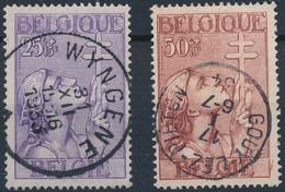 [O SUP] N° 378/79, 2 Valeurs Avec Obl Centrales - Unclassified