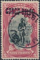 [O SUP] N° 38L, 5F Carmin. Obl Centrale 'Matadi' - Cote: 105€ - Congo Belge