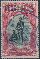 [O SUP] N° 38L, 5F Carmin. Obl TG Centrale 'Boma' - Cote: 105€ - Congo Belge