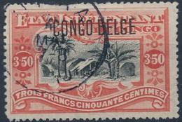 [O SUP] N° 47, 3,50F Vermillon - Cote: 35€ - Congo Belge