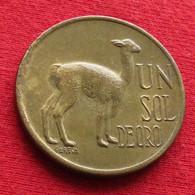 Peru 1 Un Sol De Oro 1974 KM# 248 Perou - Perú