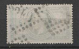 """TRES BEAU N°33A """"5 F Bleu"""" BE/TBE Signé Cote 1300€ - 1863-1870 Napoleone III Con Gli Allori"""
