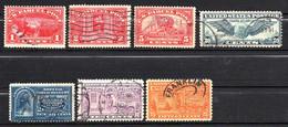 Etats-Unis 1884/1939 3xColis Postaux, 3xExpress, 1xPoste Aérienne    1 €  (cote 10,90 €  7 Valeurs) - Usati