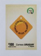 Uruguay 2012 Mnh- Signalisation Signaling Seguridad Vial - Decenio Decade - Yvert 2608 - Uruguay