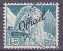 Schweiz Verwaltungsmarke: SBK-Nr. 67 (Technik Und Landschaft, 1950) Gestempelt - Servizio