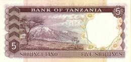 TANZANIA P.  1a 5 S 1966 UNC - Tanzania