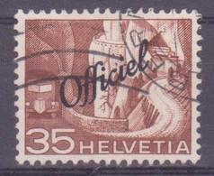 Schweiz Verwaltungsmarke: SBK-Nr. 71 (Technik Und Landschaft, 1950) Gestempelt - Servizio