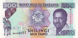 TANZANIA P. 26c 500 S 1993 UNC - Tanzania