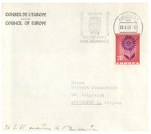 (O 12) EUROPA CEPT - Germany - Conseil De L'Europe - 1964 - Charlemagne - Aachen - Europa-CEPT