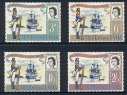 Tristan Da Cunha 1966 Establishment Of The Garrison MLH - Tristan Da Cunha