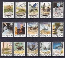 Tonga Niuafo'ou 1989 Evolution Of The Earth Specimen Set Of 15 - Tonga (1970-...)