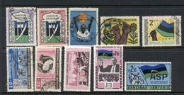 Zanzibar 1960's Assorted Oddments FU/MLH - Zanzibar (1963-1968)