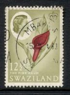 Swaziland 1962 QEII Pictorials 12.5c FU - Swaziland (1968-...)