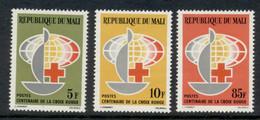Mali 1963 Red Cross Centenary MUH - Mali (1959-...)
