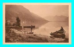 A787 / 279 74 - Env Annecy ANGON Le Petit Lac Et Montagnes Des Bauges - Francia