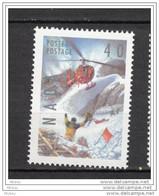 Canada, 1991, #1330, MNH, Hélicoptère, Sauvetage, Rescue, Helicopter, Montagne, Escalade, Climbing, Mountain - Elicotteri