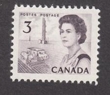 Canada, 1967, #456, MNH, Agriculture, Blé, Moiçonneuse-batteuse, Pétrole, Oil, Petroleum, Wheat, Blé, Élizabeth II - Camion