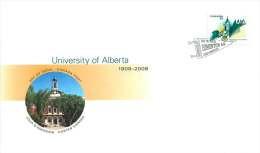 2008   University Of Alberta  Sc 2263  Single From Booklet - Omslagen Van De Eerste Dagen (FDC)