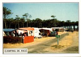 Sion St Hilaire Le Camping De Riez       CPM Ou CPSM - Saint Hilaire De Riez