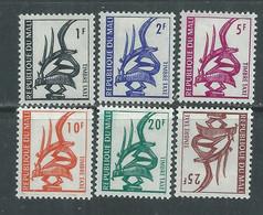 MALI Taxe  N° 1 / 6 X   La Série Des 6 Valeurs Trace De Charnière Sinon TB - Mali (1959-...)