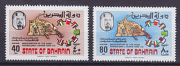 Bahrain 1977 Mi. 276-77 Inauguration Arab Shipbuilding And Repair Yard Co. Complete Set MNH** - Bahrein (1965-...)