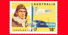 AUSTRALIA ~  Usato ~ 1978 - 50 Anni Del Primo Volo Trans Pacifico 1928-1978 - I Primi Aviatori - Charles Ulm - 18 C - 1966-79 Elizabeth II