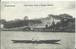 TURQUIE - CONSTANTINOPLE - Hôtel Summer Palace à Thérapia - Turkey