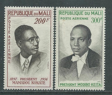 MALI  P. A.  N° 9 / 10 X  Présidents, Les 2 Valeurs Trace De Charnière, TB - Mali (1959-...)
