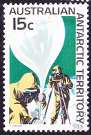 AUSTRALIAN ANTARCTIC TERRITORY (AAT) 1968 QEII 15c Multicoloured 'Weather Ballon SG14 FU - Used Stamps