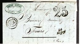 37115 - Cursive 84 / Regny - 1849-1876: Classic Period