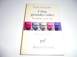 PAUL CLAUDEL/ CINQ GRANDES ODES/ BE/ 1966 - Teatro
