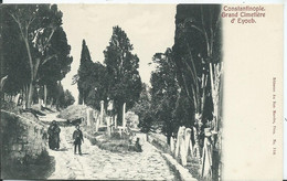 TURQUIE - CONSTANTINOPLE - Grand Cimetière D' Eyoub - Türkei