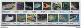 Vanuatu 1987. Michel #754/68 MNH/Luxe. Animals. Fishes. (Ts18/05) - Vanuatu (1980-...)