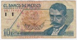 Mexico P 99 - 10 Nuevos Pesos 10.12.1992 - Fine+ - Mexiko