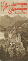 Deutschland - Hohenschwangau Schwangau 1938 - Faltblatt Mit 13 Abbildungen - Dépliants Turistici