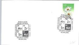 POSTMARKET   ESPAÑA   2007 - Chemistry