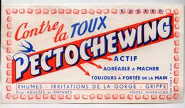 Buvard PECTOCHEWING  Contre La Toux (M0741) - Chemist's