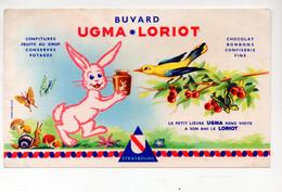 Buvard UGMA LORIOT  Confiseries  (M0742) - Alimentare