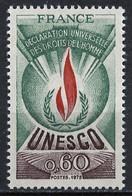 France - Frankreich Service 1975 Y&T N°S43 - Michel N°DU13 *** - 60c UNESCO - Neufs