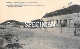 Batterie Wilhelm II Le Casernement  - Knokke - Knokke