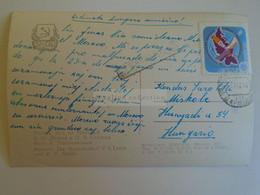 D173605  Esperanto Correspondence  1961   Russia Moscow  To Hungary  Miskolc - Esperanto